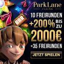 Gratis Bonus bei ParkLane Casino