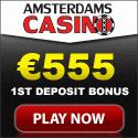 10€ Gratis und 10 kostenlose Freispiele bei Amsterdams Casino