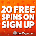 20 Freispiele ohne Einzahlung bei LeoVegas