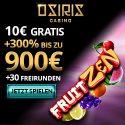 10 Freirunden  bei Osiris Casino